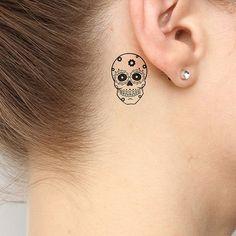 Petal Temporary Tattoo Pack (Set of Mexican Skull Tattoos, Bull Skull Tattoos, Sugar Skull Tattoos, Dragon Tattoo Back Piece, Dragon Sleeve Tattoos, Flower Neck Tattoo, Small Back Tattoos, Small Skull Tattoo, Donut Tattoo