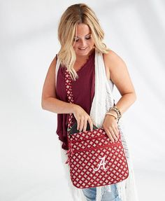 ec1c8a62c5 Show your school spirit with an item from our new Collegiate Collection! Vera  Bradley