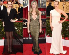 Every Stunning Look from the 2015 SAG Awards Red Carpet  #InStyle