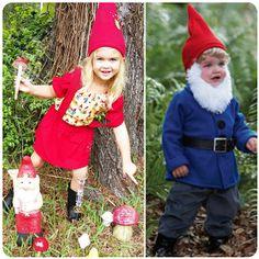 Kid Costume Idea: Gnomes!
