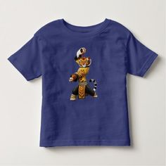 Master Tigress - Fearless Toddler T-shirt - tap, personalize, buy right now!