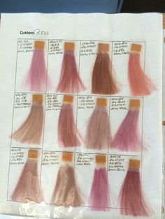 Aveda Rose - Pink Formulas [] #<br/> # #Aveda #Color,<br/> # #Hair #Style,<br/> # #Aveda #Institute,<br/> # #Cos,<br/> # #School,<br/> # #Pink,<br/> # #Scanning,<br/> # #Nails,<br/> # #Fashion<br/>