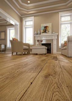 Floor OLD PAINTER'S DREM Timeless Collection Baltic Wood  (English interior, French interior, stucco, floor, brown walls)