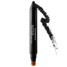 Shop SEPHORA COLLECTION's Easy Smoky Eye at Sephora. This double-ended shadow stick makes creating a smoky eye effortless. Eyeliner Hacks, Simple Eyeliner, Brown Eyeliner, Perfect Eyeliner, Eyeliner Styles, Best Eyeliner, How To Apply Eyeliner, Pencil Eyeliner, Silver Eyeliner