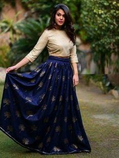 Navy Blue Colour Banglori Silk Fabric Party Wear Lehenga Choli Comes with matching blouse. This Lehenga Choli Is crafted with Embroidery This Lehenga Choli Comes with Unstitched Blouse Which Can Be St. Lehenga Crop Top, Lehenga Skirt, Lehnga Dress, Lehenga Choli, Sarees, Black Lehenga, Green Lehenga, Indian Lehenga, Blue Saree