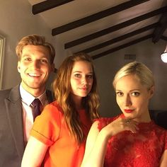 "Elizabeth Lail: ""Family portrait before #TheMagicCastle It was amazing!"""