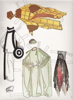 Erté Fashion Paper Dolls of the Twenties 10/16 (1978) by Susan Johnston, Dover…