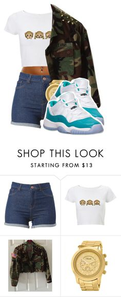 """Cut You Off Like A Picture Straight Crop You"" by dajvuuloaf ❤ liked on Polyvore featuring Breda and Retrò"