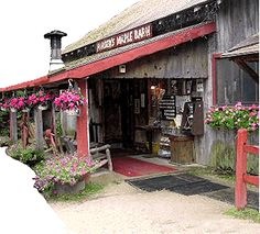 I love the hearty breakfasts, maple-based foods and rustic New Hampshire atmosphere at Parker's Maple Barn, in Mason, N.H.