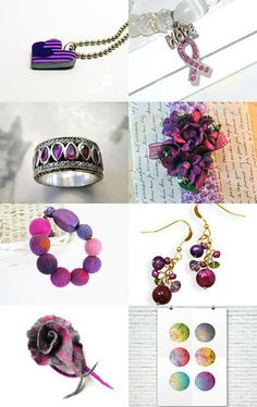 Purple day, 13.01.16. by Millie Ol on Etsy--Pinned with TreasuryPin.com
