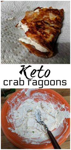 VISIT FOR MORE Keto crab ragoons recipe – keto diet chinese recipe! Perfect for the Ketogenic diet and low carb diet. Keto Foods, Ketogenic Recipes, Keto Snacks, Low Carb Recipes, Diet Recipes, Atkins Recipes, Smoothie Recipes, No Carb Snacks, Chinese Recipes