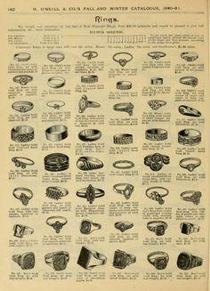 Fall and Winter, Fashion Catalogue / H. Jewelry Ads, Hippie Jewelry, Jewelry Design, Victorian Jewelry, Antique Jewelry, Vintage Jewelry, Vintage Costume Jewelry, Vintage Costumes, Jewelry Drawing