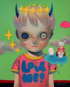 Children of This Planet 32 by Hikari Shimoda - Fine Art Prints available at EyesOnWalls.com