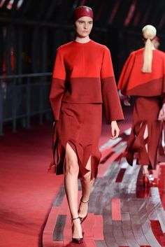 Looks from Valentino's Collection Shanghai 2013.