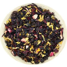 Elderberry Punch tea from Tealish.  I want to try this as an iced tea!  Yum.