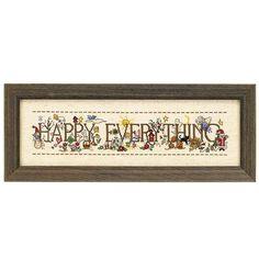 Every Day is Happy - Cross Stitch, Needlepoint, Stitchery, and Embroidery Kits, Projects, and Needlecraft Tools | Stitchery