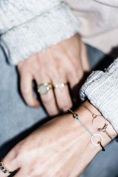 minimalist jewellery trends, dainty bracelets