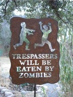 This is awesome! (lol, not for my garden though; mine is a no zombie zone)
