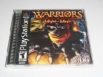 Warriors of Might and Magic Playstation Game W/FREE SHIPPING!!