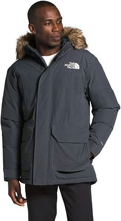This Parka is a great option for budget-conscious users in cold climates that need a jacket to keep them warm and dry in the most severe winter weather. It is packed with high-quality down insulation, has a long hem and roomy fit, and comes with a removable faux-fur hood liner that creates a seal between hood and face. Best Parka, Parka Coat, The North Face, Rain Jacket, Windbreaker, Insulation, Fitness, Faux Fur, Seal