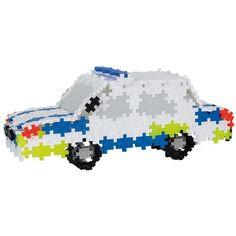 Plus-Plus Mini 480 Polícia | edukacnehracky.sk Safari, Hello Kitty, Car, Automobile, Cars