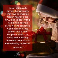 The incarnation calls anyone a liar... Version 3 #Advent #Christmas