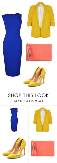 """n2"" by meaygul on Polyvore featuring Victoria Beckham, River Island, Rupert Sanderson and Jessica McClintock"