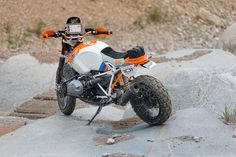 BMW Motorrad Concept Lac Rose: R80 G/S-Optik mit moderner Technik