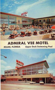 old school motel time. par exemple; admiral vee motel.