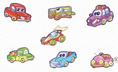 Free Embroidery Designs Living cars