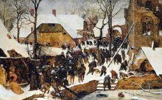 L'adoration des mages, par Pieter Bruegel