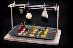 Michelin Food, Food Plating Techniques, Food Gallery, Catering Display, Food Stations, Molecular Gastronomy, Food Containers, Culinary Arts, Creative Food
