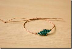 braccialetto di diamanti di perline fai da te esercitazione