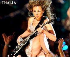 Thalia moderna niña del ROCK!