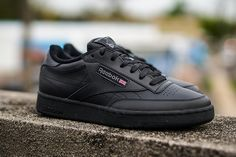 REEBOK CLASSICS CLUB C (TRIPLE BLACK) - Sneaker Freaker