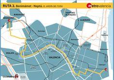 Metrovalencia - Bicimetro - Benimàmet - Marina Reial Joan Carles I