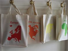 Continent bags instead of folders