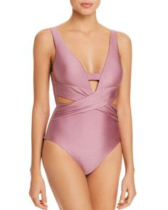a1280ec929db0 BECCA® by Rebecca Virtue Ballerina One Piece Swimsuit Women - Bloomingdale s