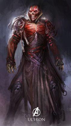 Avengers Heroic Fantasy - Ultron by Daniel Kamarudin