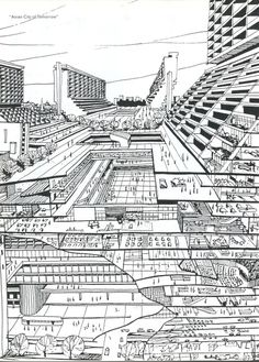 """from """"S,M,L,XL"""" by OMA, Rem Koolhaas and Bruce Mau, called """"Asian cities of tomorrow"""" Via (Source: arquicomics)"""