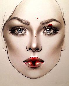 "7,058 Likes, 49 Comments - Sergey X (@milk1422) on Instagram: ""#artist@milk1412 #mylove #myart #myartistcommunity #myartistcommunityrussia #makeup #makeupart…"""