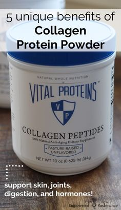 Collagen is one of the best ways to boost protein intake, improve skin/hair health, and even help balance hormones! Natural Cures, Natural Health, Natural Protein Powder, Best Protein Powder, Berry, Collagen Protein, Collagen Pills, Collagen Food, Collagen Drink