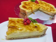Tarta de crema de limón Ana Sevilla