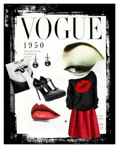"""Retro Twist"" by acole-1234 on Polyvore featuring Yves Saint Laurent, women's clothing, women, female, woman, misses and juniors"