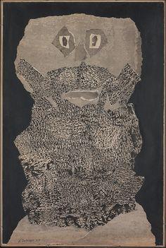 Jean Dubuffet, Beard Garden (1959)