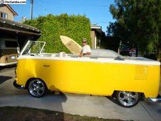 Com uma carrinha destas até eu fazia surf