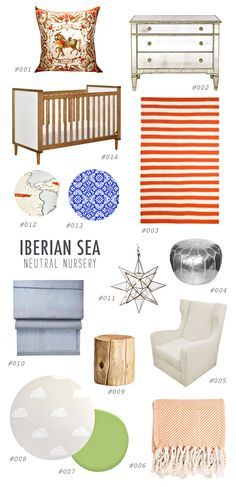 Gender Neutral Nursery Inspiration - view more http://ruffledblog.com/gender-neutral-nursery-inspiration/