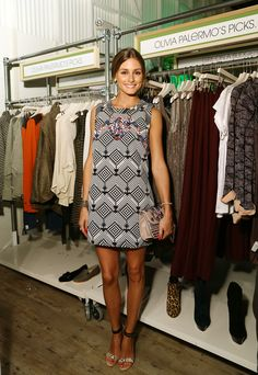 Guest Editor Olivia Palermo at our new SoHo store...we ♥ this gal!
