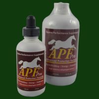 APF pro - Advanced adaptogenic formula for horses, boost immune system, prevent ulcers, improve muscle strength and development.