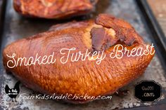 This smoked turkey is brined and smoked for a beautiful flavor and juicyness. I'll show how to smoke a turkey breast like a pro. The brine is an overnight soak in a homemade brine before smoking on a Traeger grill. Traeger Recipes, Grilling Recipes, Grilling Ideas, Smoked Turkey Breast Recipe, Smoked Turkey Brine, Pellet Grill Recipes, Smoking Recipes, Smoking Food, Smoker Cooking